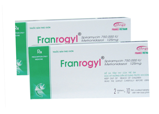 FRANROGYL (Hộp 2 vỉ x 10 viên)
