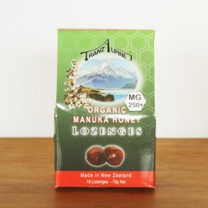 Organic Manuka Honey Lozenges 250
