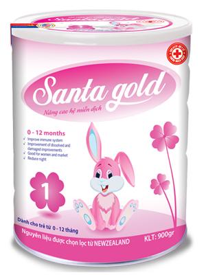 SANTA GOLD (0 - 12 tháng) (Hộp 400gr_900gr)