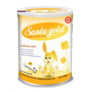 SANTA GOLD CALCIUM NANO (Hộp 900gr)
