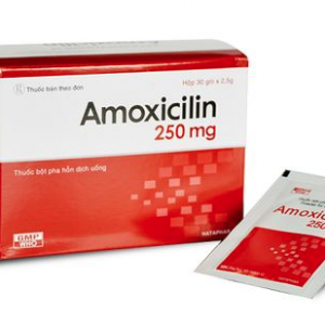 Amoxicillin 250Mg Vdp (Hộp 10 vỉ x 10 viên) (F)