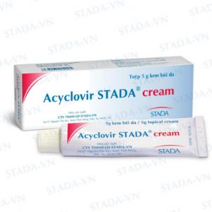 Acyclovir Stada® Cream 5G (Hộp 1 tuýp 5g) (F)