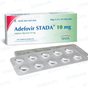 Adefovir Stada® 10 Mg (Hộp 3 vỉ x 10 viên) (F)