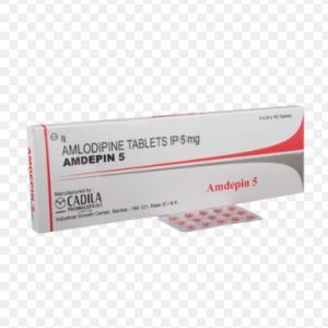 Amdepin 5Mg (Hộp 3 vỉ x 10 viên) (F)