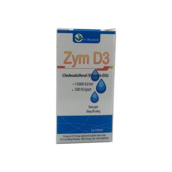 ZYM D3 (Chai nhỏ giọt 10ml)