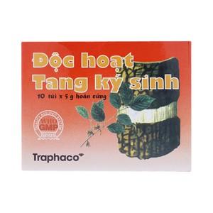Độc Hoạt Tang Ký Sinh - Hỗ Trợ Điều Trị Đau Xương Khớp ( Hộp 10 túi x 5 g )
