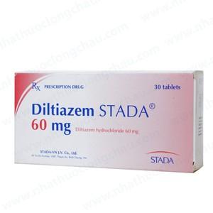Diltiazem 60 (Hộp 3 vỉ x 10 viên)