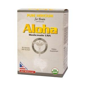 Aloha Pure Hericium For Brain 90V (Nấm Đầu Khỉ) (Hộp)