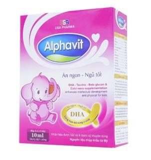 Alphavit Ăn Ngon Ngủ Tốt Usa Pharma
