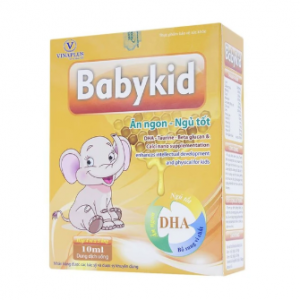 Babykid Ăn Ngon Ngủ Tốt Vinaplus 4X5 Ống 10Ml