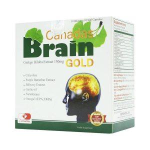 Canadas Brain Gold Hdpharma 10X10 (Hộp 10 Vỉ x 10 Viên)