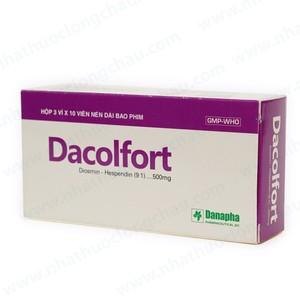 Dacolfort (Hộp 3 Vỉ x 10 Viên)