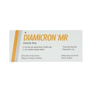 Diamicron Mr 30Mg (Hộp 2 Vỉ x 30 Viên)