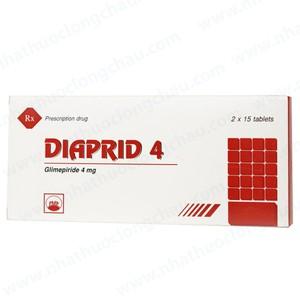 Diaprid 4Mg (Hộp 2 vỉ x 15 viên)