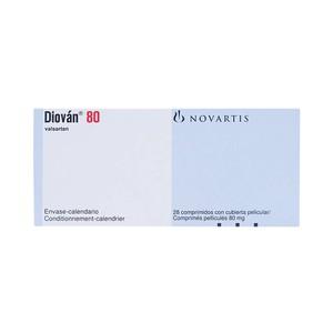 Diovan 80Mg (Hộp 2 Vỉ x 14 Viên)