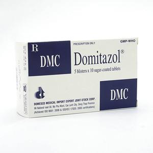 Domitazol (Hộp 5 Vỉ x 10 Viên)