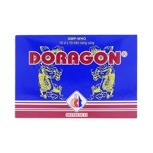 Doragon - Hạ Men Gan (Hộp 10 vỉ x 10 viên)