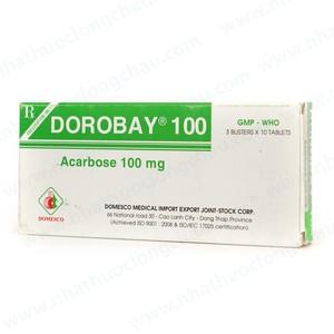 Dorobay 100Mg (Hộp 3 Vỉ x 10 Viên)