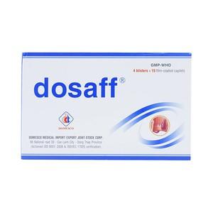 Dosaff (Hộp 4 vỉ x 15 viên)