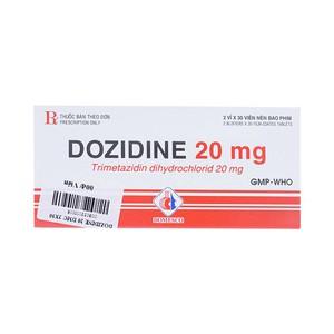 Dozidine 20mg (Hộp 2 vỉ x 30 viên)