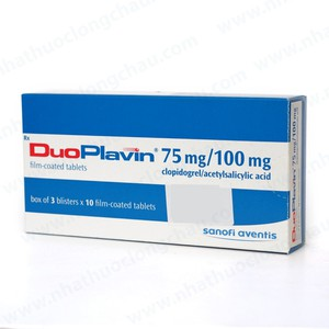 Duoplavin 75/100 ( Hộp 3 vỉ x 10 viên )