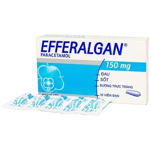 Efferalgan 150Mg (Hộp 2 Vỉ x 5 Viên)