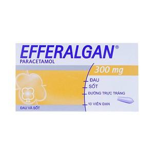 Efferalgan 300Mg 10V (Hộp 2 vỉ x 5 viên)