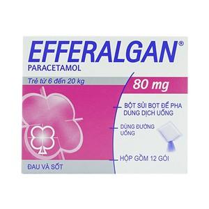 Efferalgan 80Mg Gói (Hộp 12 gói)