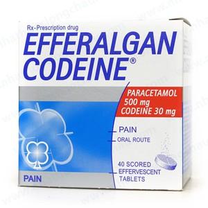 Efferalgan Codeine 500Mg Bristol (Hộp 10 Vỉ x 4 Viên)