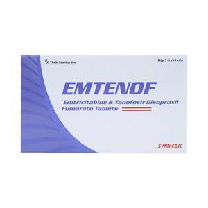 Emtenof Synmedic 3X10 (Hộp 3 Vỉ x 10 Viên)