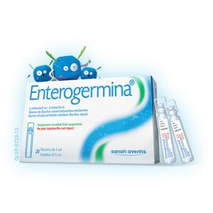 Enterogermina 5Ml (Hộp 2 vỉ x 10 ống)