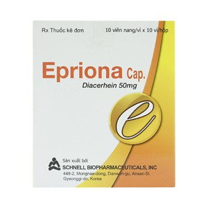 Epriona Cap (Hộp 10 vỉ x 10 viên)