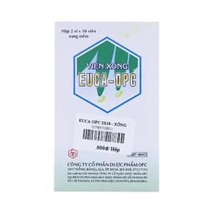 Euca-Opc® Viên Xông (Hộp 2 Vỉ x 10 Viên)