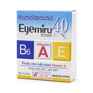 Eyemiru 40 Ex 15Ml (Hộp 1 chai)