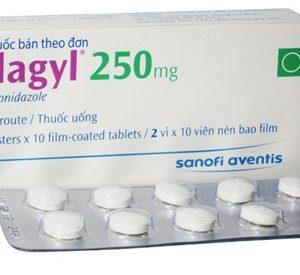 Flagyl 250Mg (Hộp 2 Vỉ x 10 Viên)