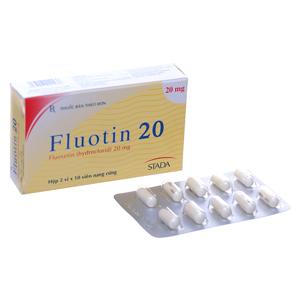 Fluotin 20 (2 Vỉ x 10 Viên)