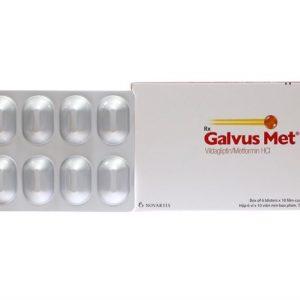 Galvus Met 50,1000Mg (6 Vỉ x 10 Viên)