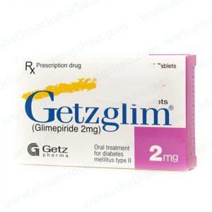 Getzglim 2Mg (2 Vỉ x 10 Viên)