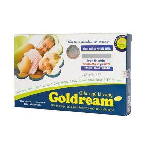Goldream - Hỗ Trợ Điều Trị Bệnh Mất Ngủ (Hộp 2 Vỉ x 10 Viên)