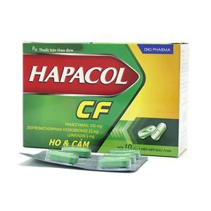 Hapacol Cf (Hộp 10 Vỉ x 5 Viên)