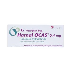 Harnal Ocas-0,4Mg (Hộp 3 Vỉ x 10 Viên)