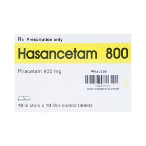 Hasancetam 800 (Hộp 10 Vỉ x 10 Viên)