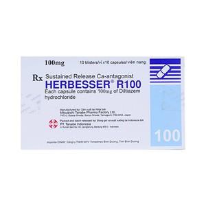 Herbesser R 100 (Hộp 10 Vỉ x 10 Viên)