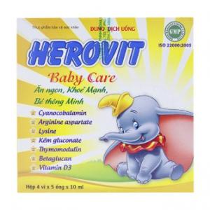 Herovit Babycare 4X5 Ống Thăng Long