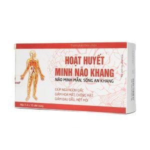 Hoạt Huyết Minh Não Khang (Hộp 3 Vỉ x 10 Viên)