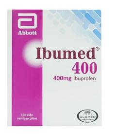Ibumed 400Mg Abbott Glomed (10 Vỉ x 10 Viên)