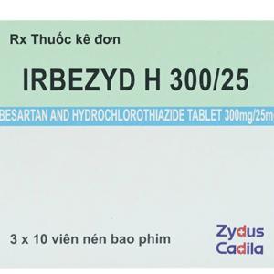 Irbezyd H 30025 Cadila (3 Vỉ x 10 Viên)
