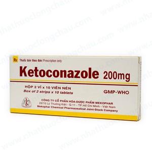 Ketoconazole 200Mg (Hộp 2 Vỉ x 10 Viên)
