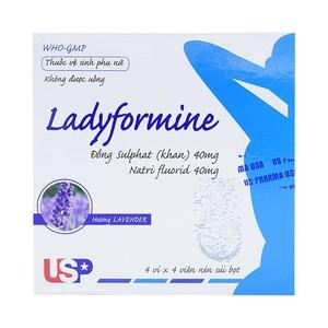 Ladyformine 80Mg 4X4 (Hộp 4 Vỉ x 4 Viên)