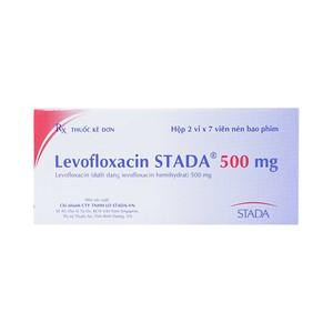 Levofloxacin 500Mg (Hộp 2 Vỉ X 7 Viên)